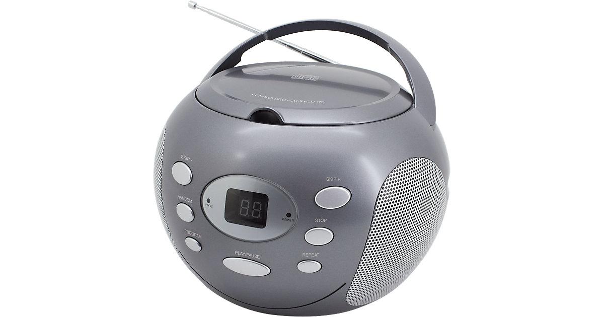 CD Player mit Radio, grau