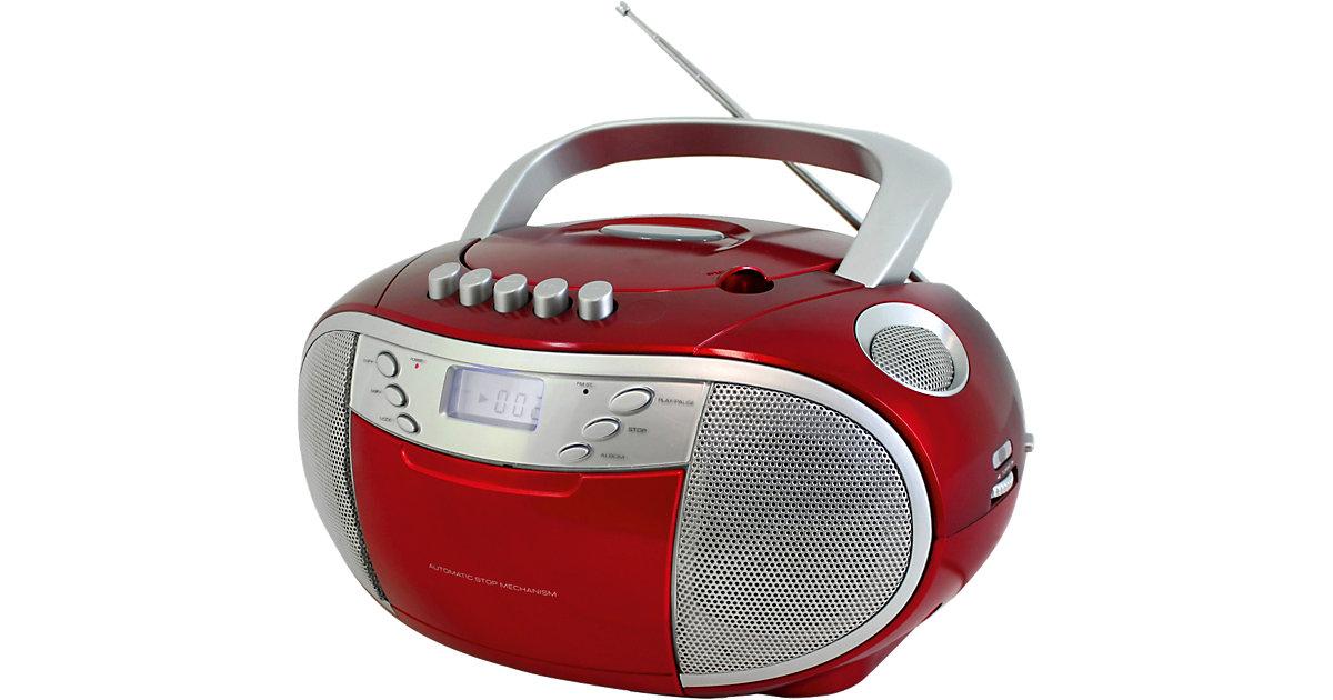 CD-Player Boombox mit Radio und Kassettenplayer...