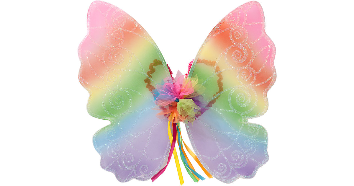 Flügel Regenbogenfee Mädchen Kinder