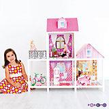 2-этажный кукольный дом