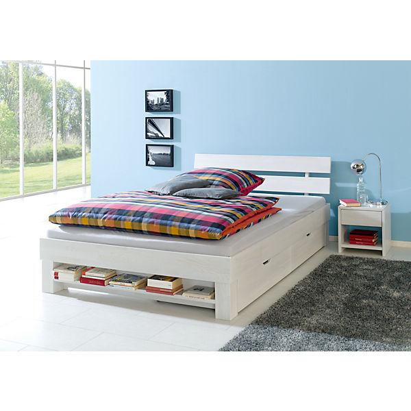 bettregal julia f r 140 cm breite betten eiche massiv. Black Bedroom Furniture Sets. Home Design Ideas