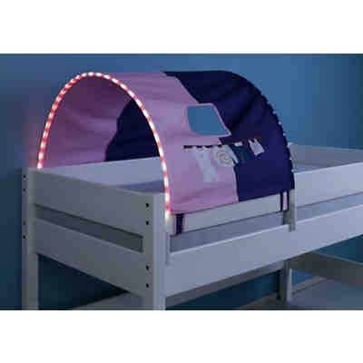 Tunnel Inkl Led Beleuchtung Zu Hoch Etagenbetten Delphin Blau