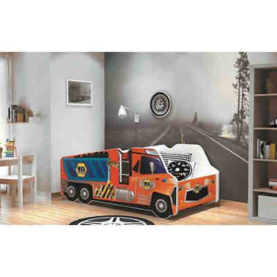 kinderbett feuerwehr 70 x 140 cm kidkraft mytoys. Black Bedroom Furniture Sets. Home Design Ideas