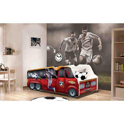 kinderbett flugzeug 70 x 140 cm kidkraft mytoys. Black Bedroom Furniture Sets. Home Design Ideas
