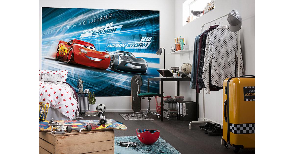 "Fototapete ""Cars 3 Simulation"", 254 x 184 cm"