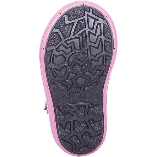 Сноубутсы Demar - черный/розовый от Demar