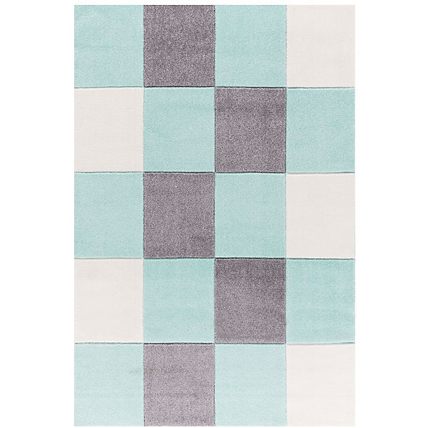 Kinderteppich, CHECKER mint