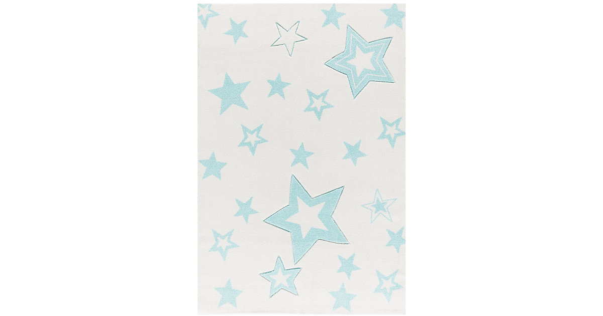 Kinderteppich, STARLIGHT creme/mint Gr. 100 x 160