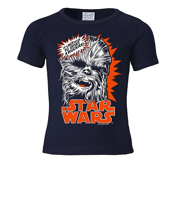Logoshirt T Shirt Mit Aufdruck Chewbacca Krieg Der Sterne T Shirts