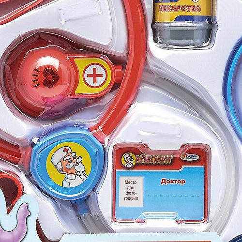 "Набор доктора Играем вместе ""Доктор Айболит"", 9 предметов, свет и звук от Играем вместе"