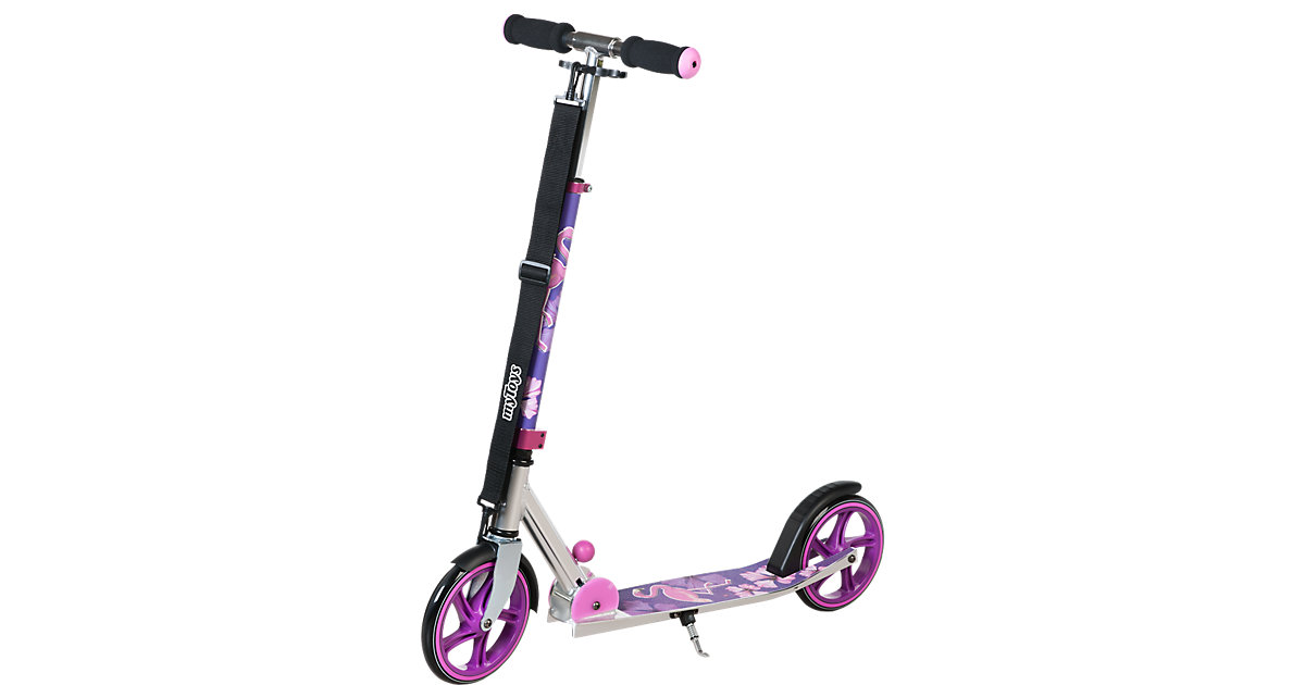 Scooter 205 mit Tragegurt, Design Flamingo