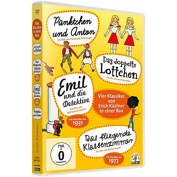 DVD Erich Kästner Box (4 DVDs)
