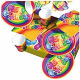 "Набор одноразовой посуды для пикника Susy Card ""Happy Birthday"", 31предмет"