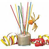 Свечи для коктейля Susy Card 24 шт., разноцветные