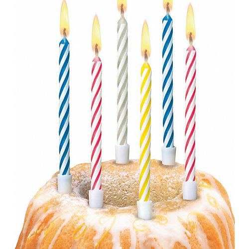 "Свечи для торта Susy Card ""Happy Birthday Magic"", 10 шт от Susy Card"
