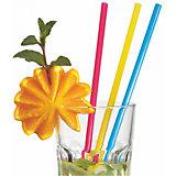 Трубочки для коктейля Susy Card широкие 25 шт, разноцветные