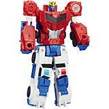 """Трансформеры Hasbro Transformers """"Роботы под прикрытием. Крэш-Комбайнер"""", Стронгарм-Оптимус Прайм"""
