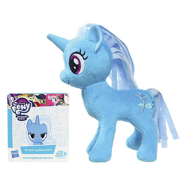 """Мягкая игрушка Hasbro My little Pony """"Маленькие плюшевые пони"""", Трикси Луламун 13 см"""