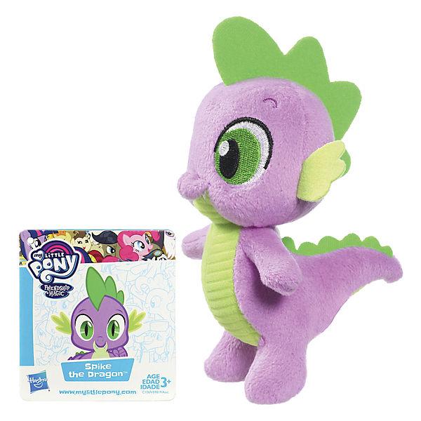 """Мягкая игрушка Hasbro My little Pony """"Маленькие плюшевые пони"""", Дракончик Спайк 13 см"""
