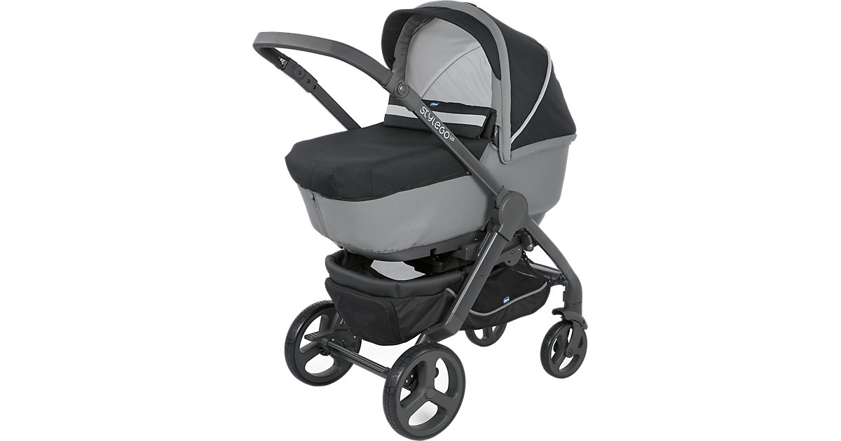 Chicco · Kombi Kinderwagen DUO STYLEGO UP CROSSOVER, Jet Black, 2018