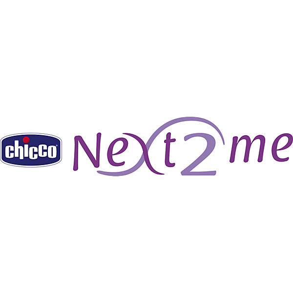 "Кроватка-люлька Chicco ""Next 2 Me"" light grey"