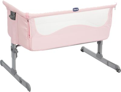 Beistellbett chicco next2me french rose chicco mytoys