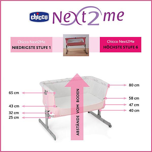 "Кроватка-люлька Chicco ""Next 2 Me"" french rose"