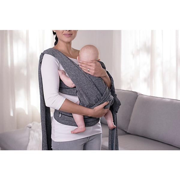 Babytrage Boppy, grey