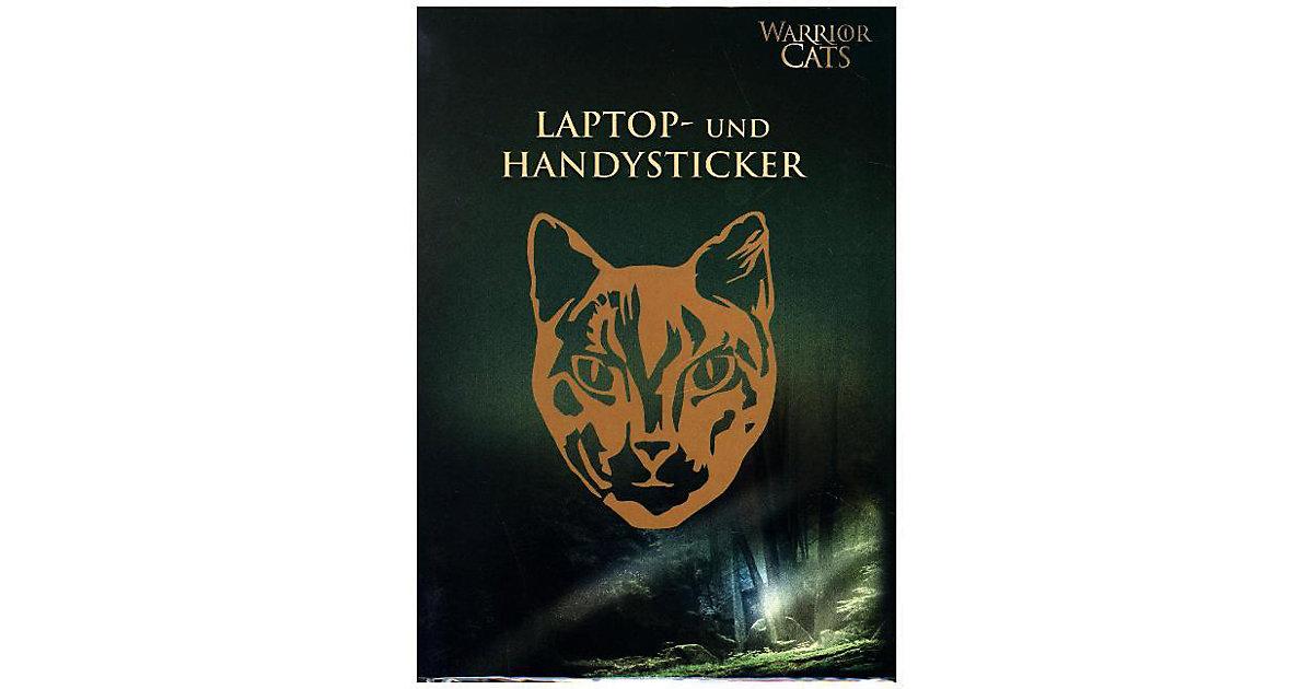 Warrior Cats: Laptop- und Handysticker orange