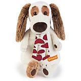 Мягкая игрушка Budi Basa Собака Бартоломей в галстуке, 27 см