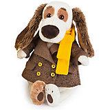 Мягкая игрушка Budi Basa Собака Бартоломей в пальто, 27 см