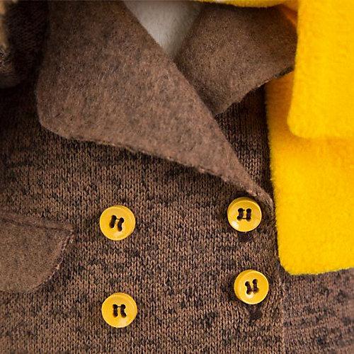 Мягкая игрушка Budi Basa Собака Бартоломей в пальто, 27 см от Budi Basa