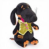 Мягкая игрушка Budi Basa Собака Ваксон в жилетке, 25 см