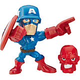"Микро-фигурка Hasbro Marvel ""Super Hero Mashers"", Капитан Америка 5 см"
