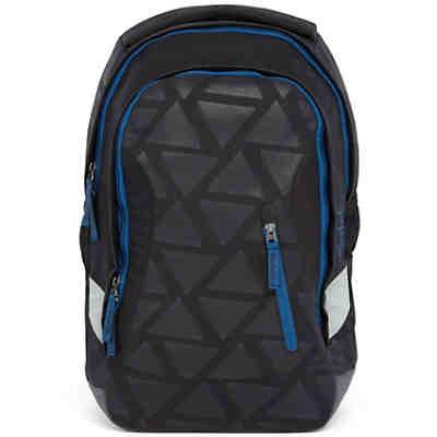 12eeea54c0d69 Bestway Schulrucksack Evolution Air blau schwarz