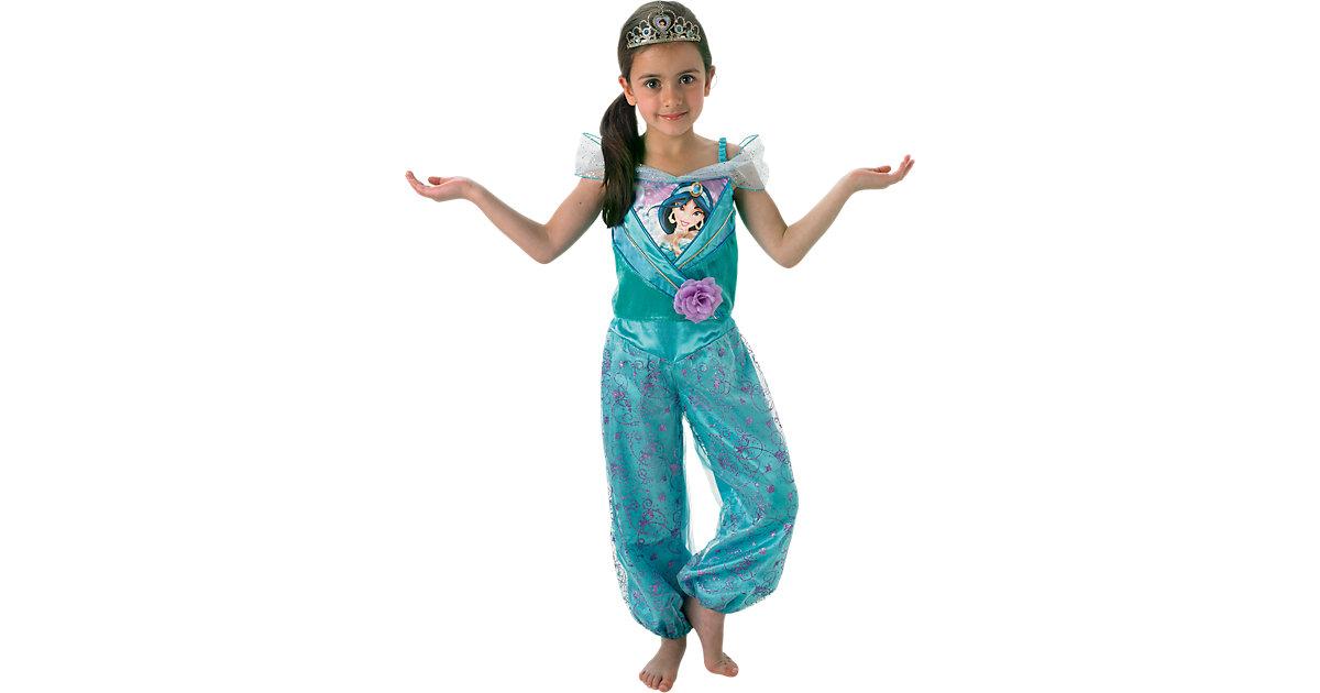 Kostüm Jasmine Aladdin Shimmer Gr. 104 Mädchen Kleinkinder