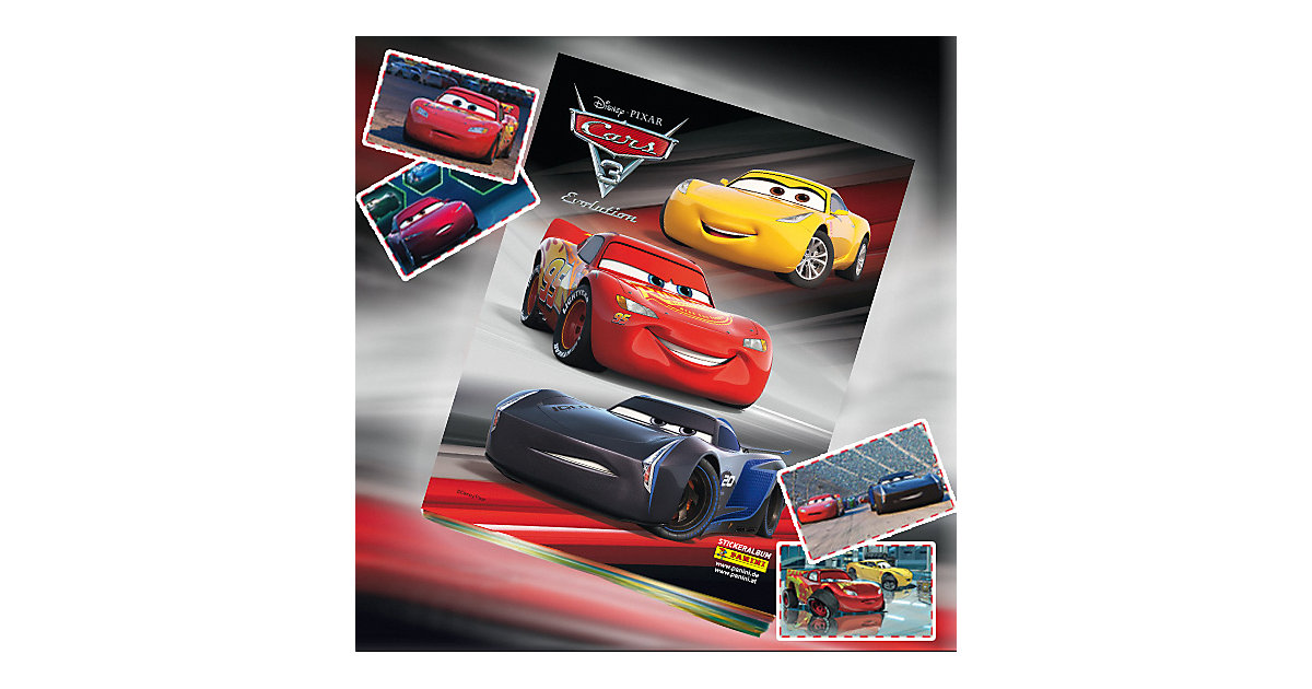Disney Cars 3 Sammelalbum