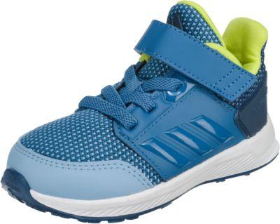 Baby Sportschuhe RapidaRun EL I für Jungen, adidas Performance