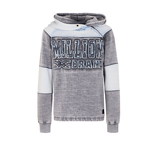 Million X Kids  Jungen Sweat Hoodie X BRAND Pullover Gr. 152 Jungen Kinder | 04032216938194