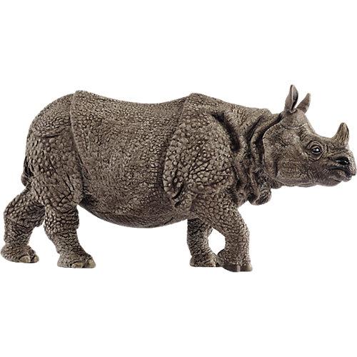 """Коллекционная фигурка Schleich """"Дикие животные"""" Индийский носорог от Schleich"""