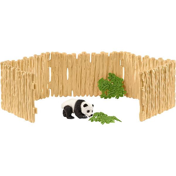 Schleich 42429 Wild Life: Gehege für Pandabären, Schleich