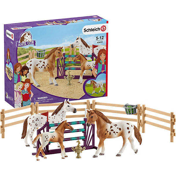 Schleich 42433 Horse Club: Lisas Turnier-Training