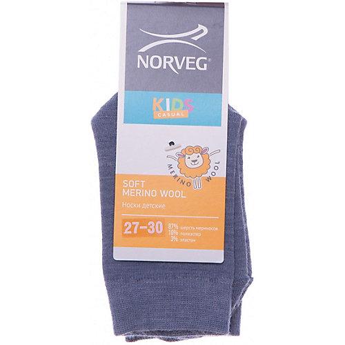 Носки Norveg Soft Merino Wool - голубой от Norveg