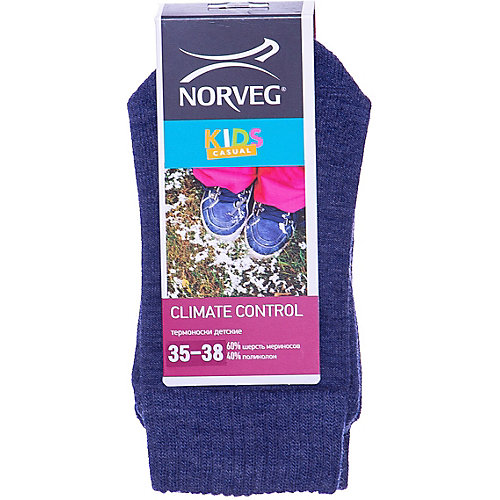 Термоноски Norveg - синий от Norveg