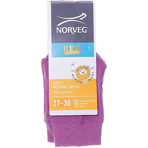 Носки Norveg Soft Merino Wool - лиловый от Norveg