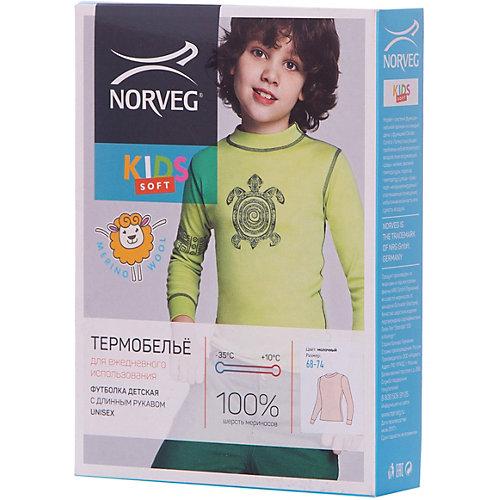Термобелье Norveg: лонгслив - экрю от Norveg
