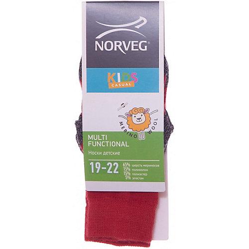 Термоноски Norveg Street - красный от Norveg