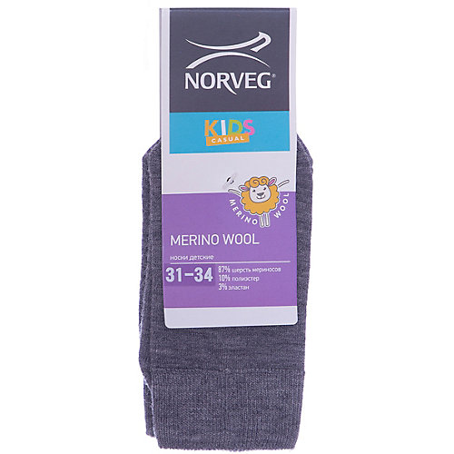 Носки Norveg - серый от Norveg