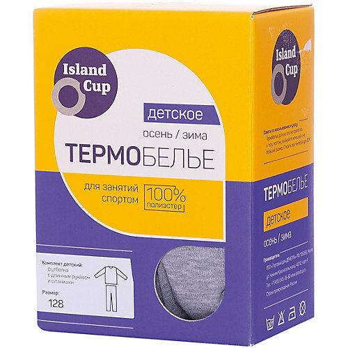 Комплект термобелья Island Cup - серый