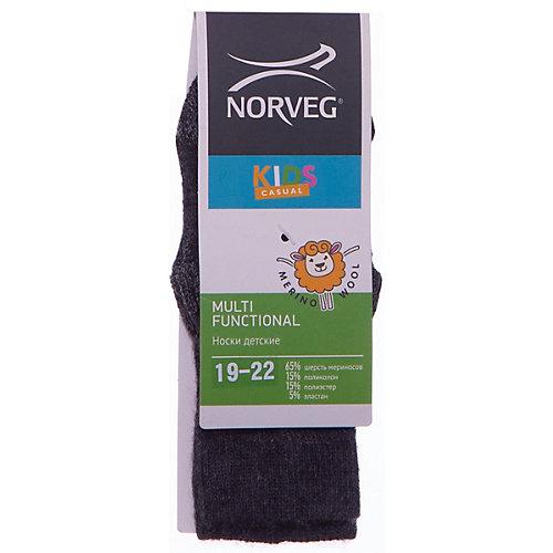 Термоноски Norveg Street - темно-серый от Norveg